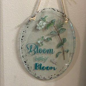 Bloom Baby Bloom Art Glass